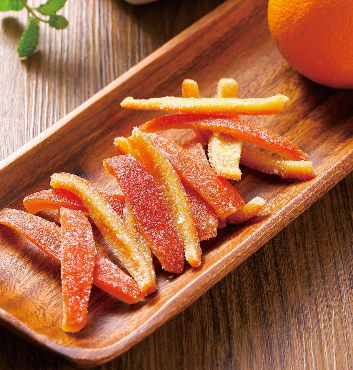 食譜:蜜漬橙皮