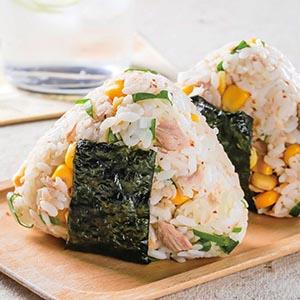 日式鮪魚玉米飯糰