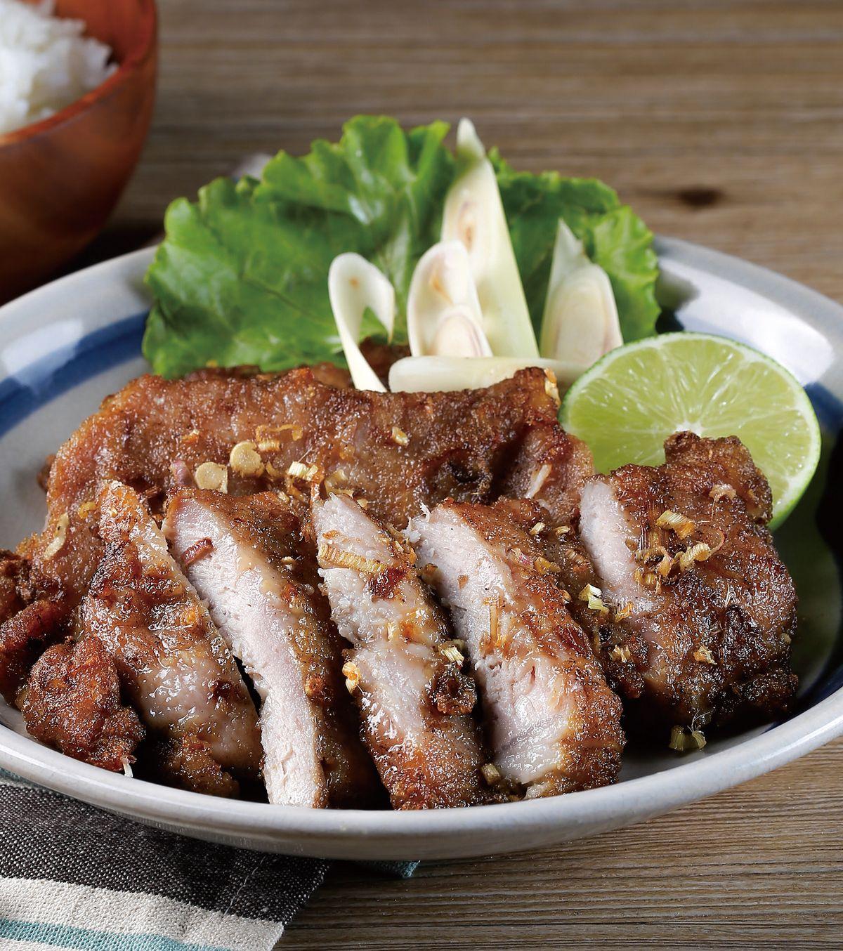 食譜:香茅豬排