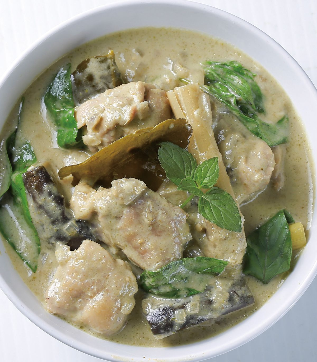 食譜:綠咖哩雞(1)