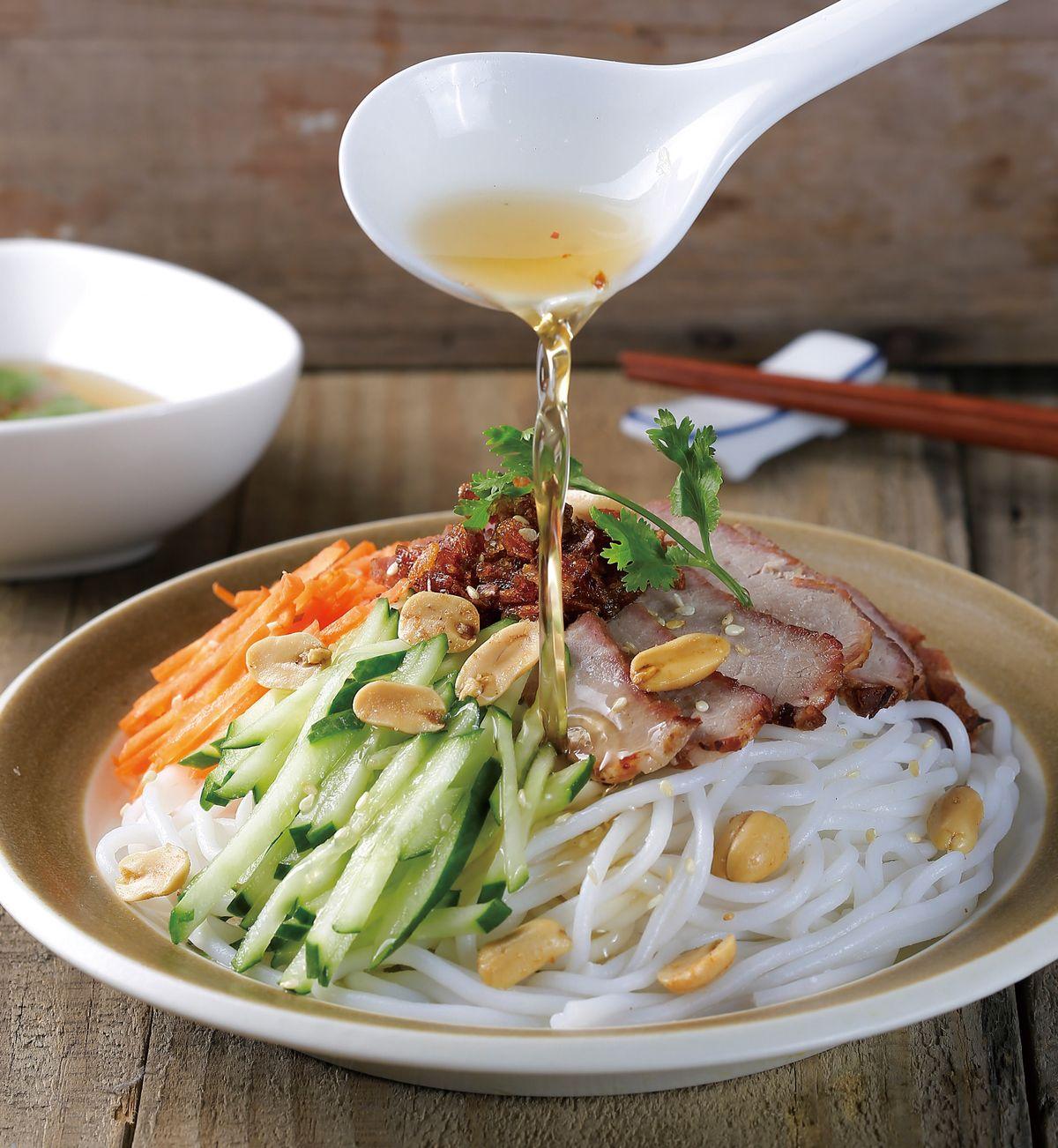 食譜:涼拌米線