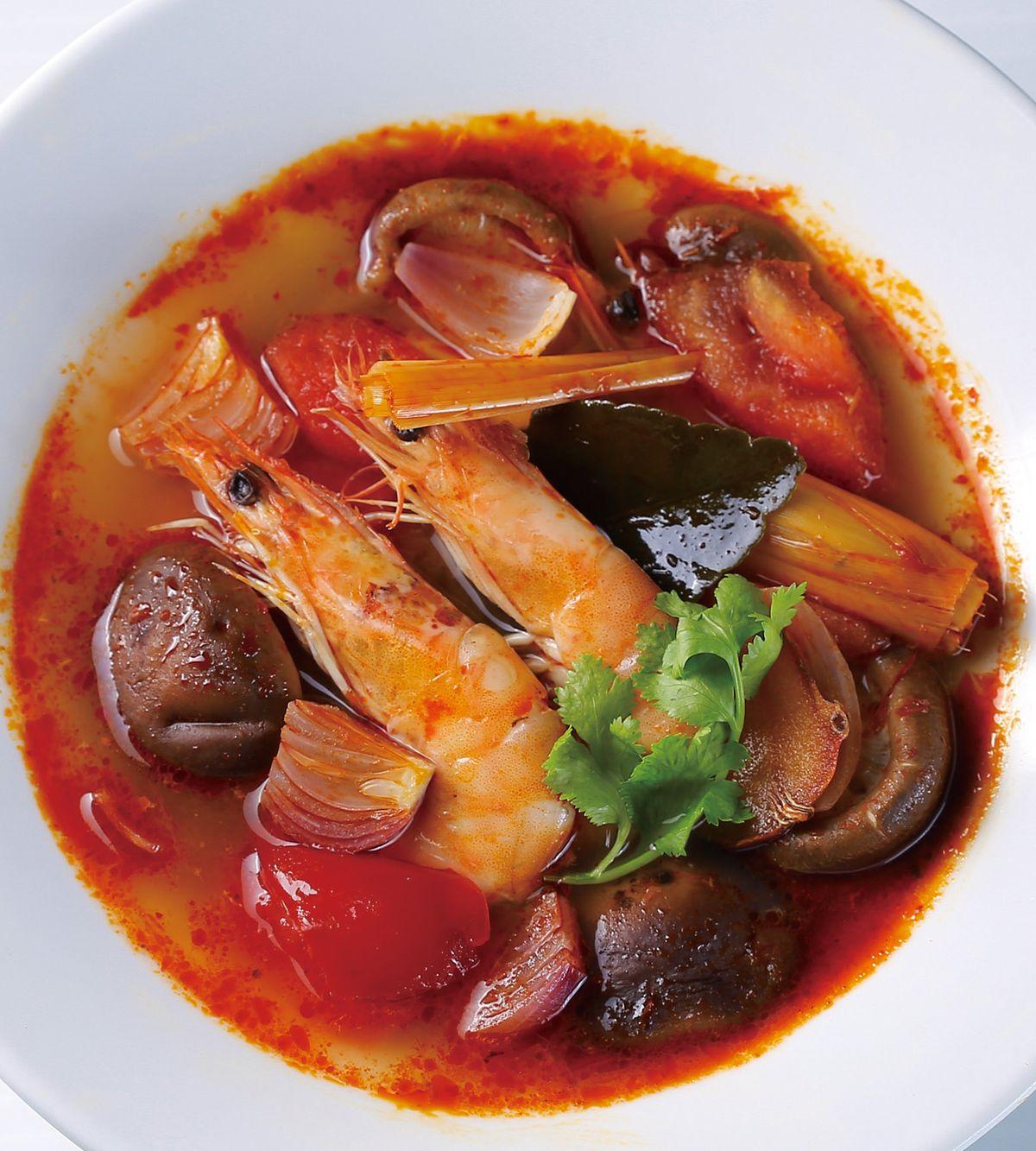 食譜:酸辣海鮮湯(2)
