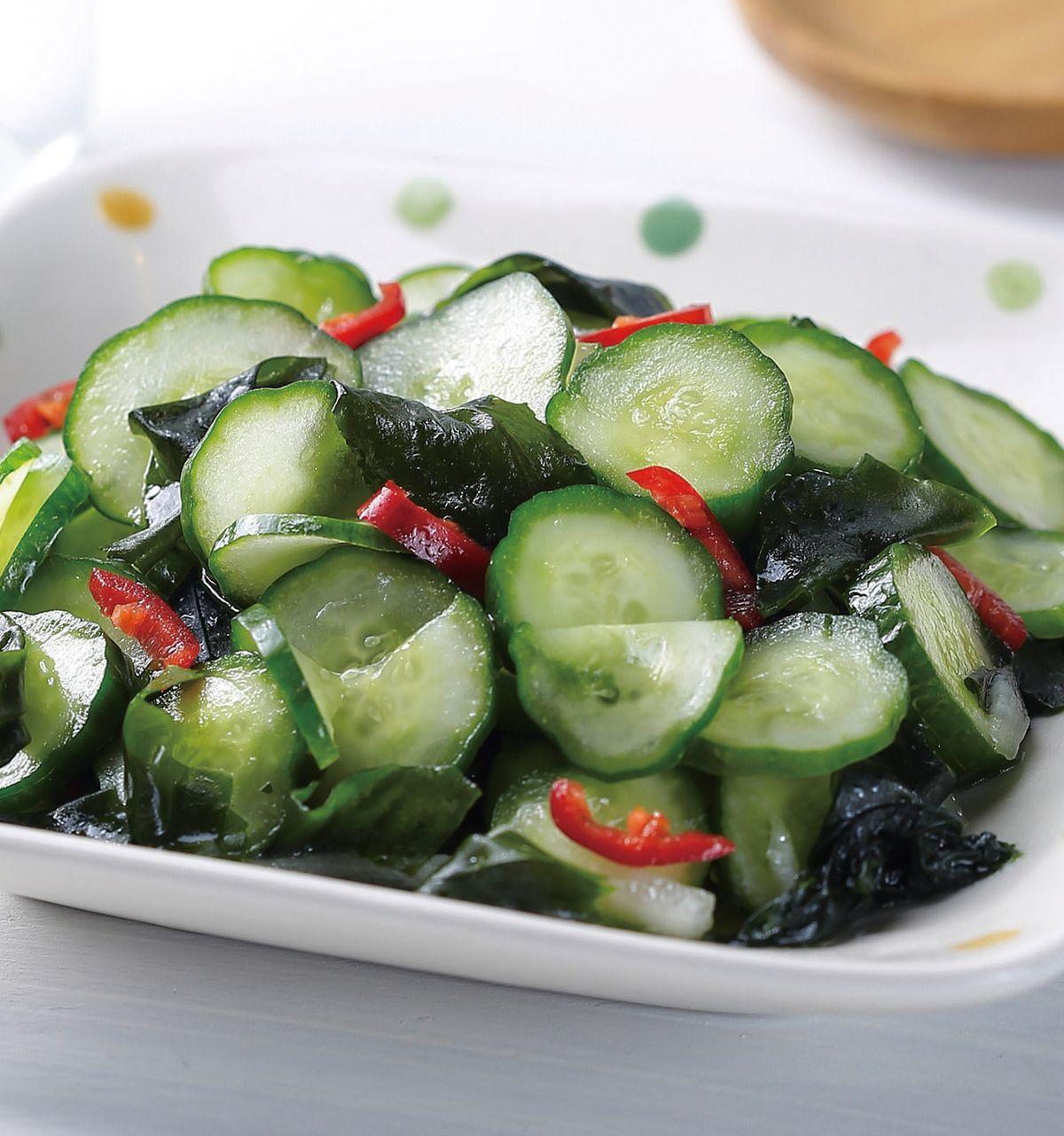 食譜:小黃瓜拌海帶芽