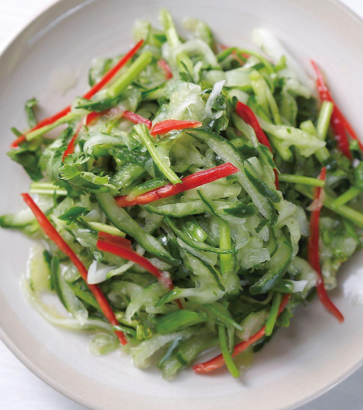 食譜:辣拌小黃瓜絲