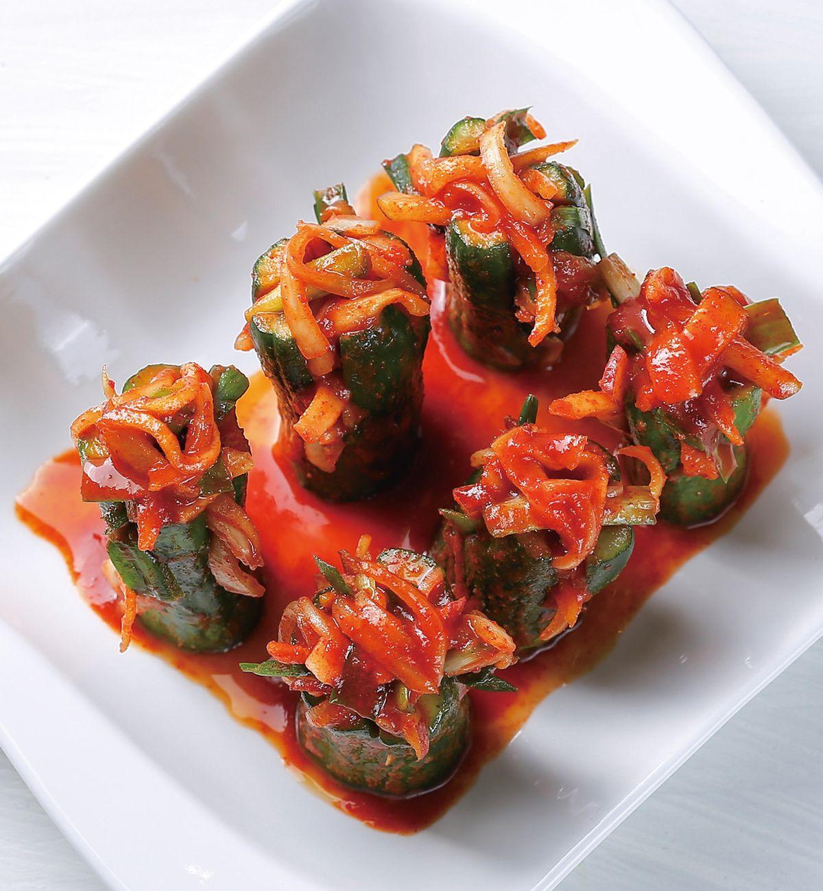 食譜:小黃瓜泡菜(2)