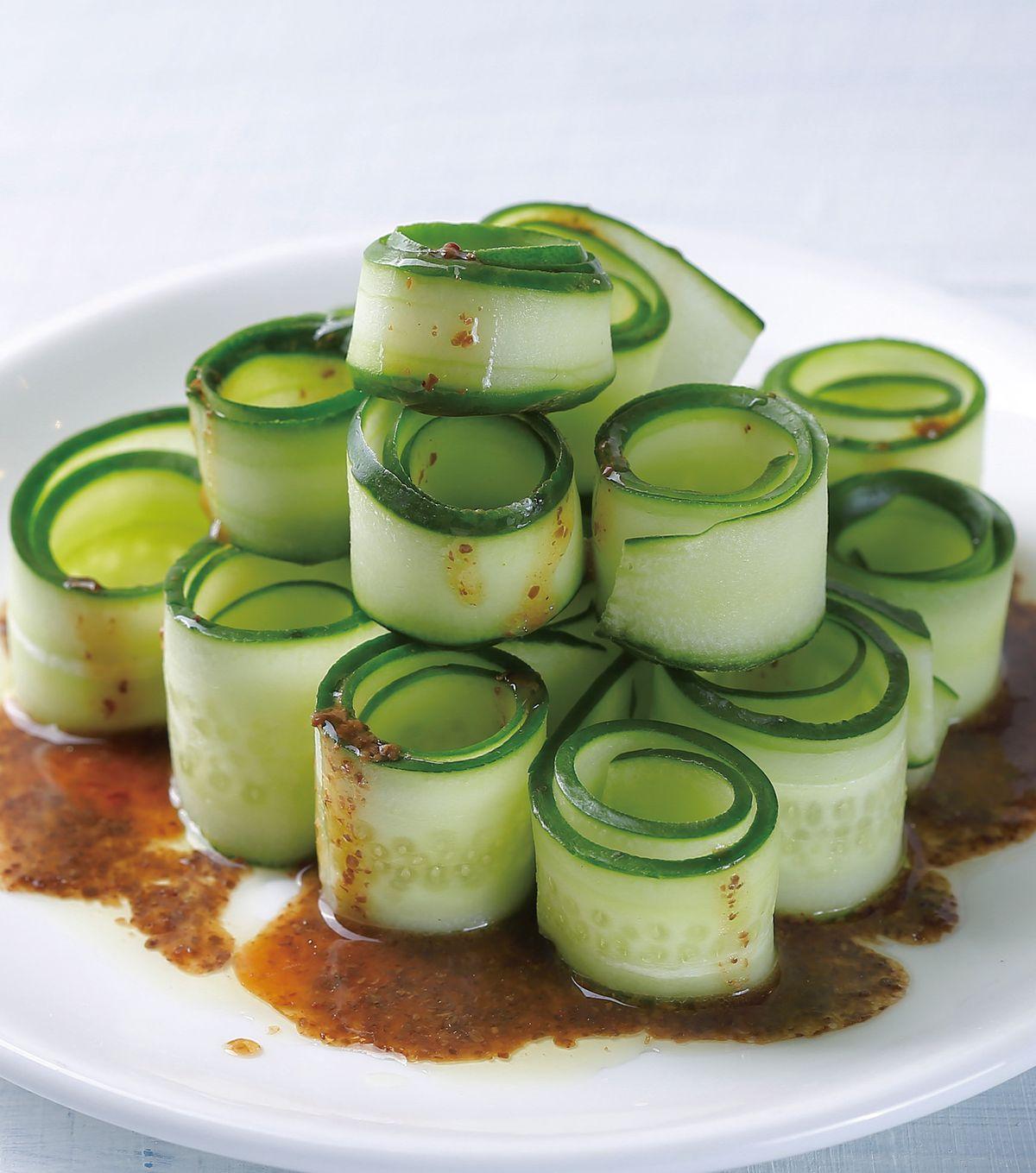 食譜:和風汁小黃瓜片