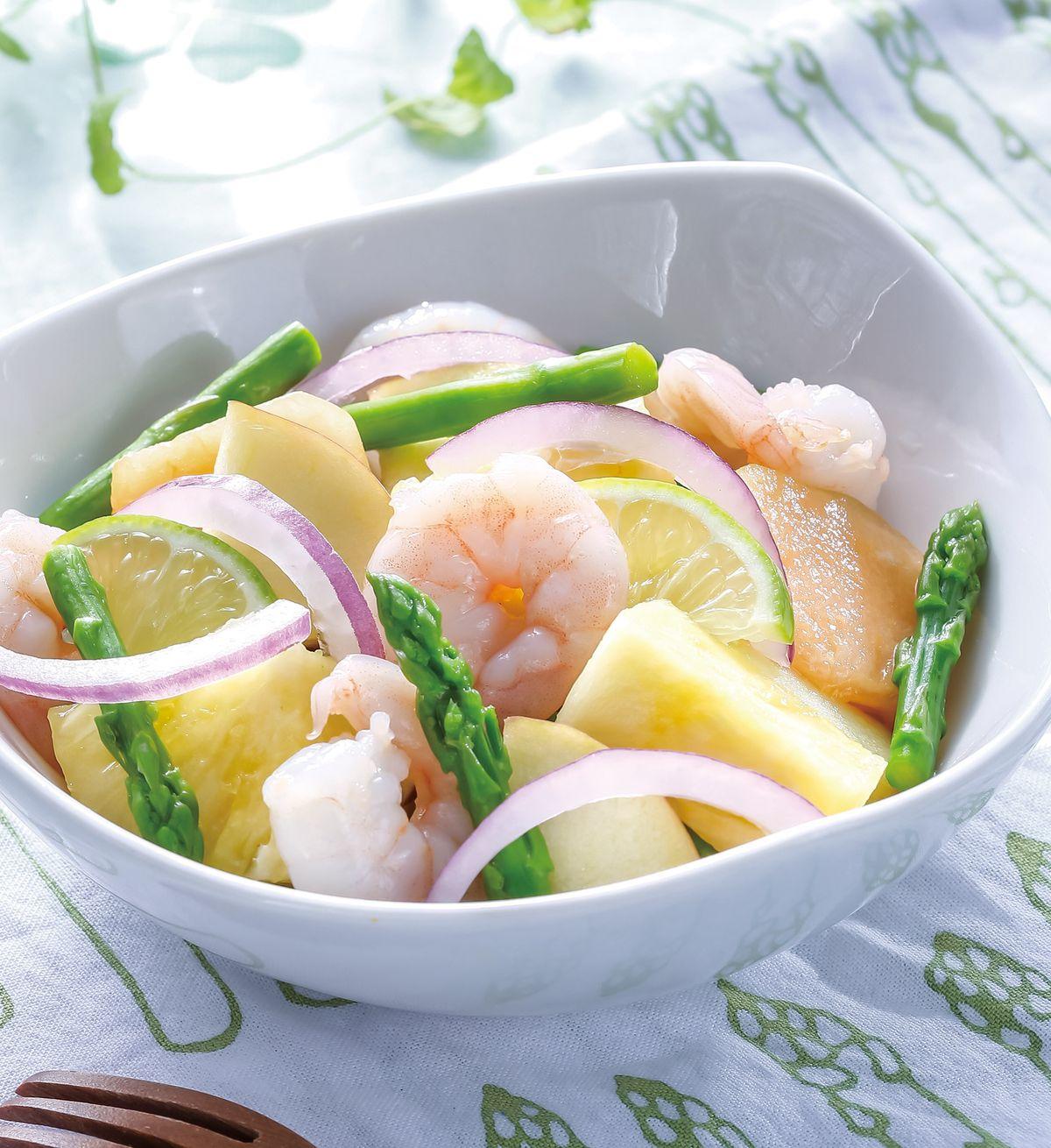 食譜:蔬果拌蝦仁