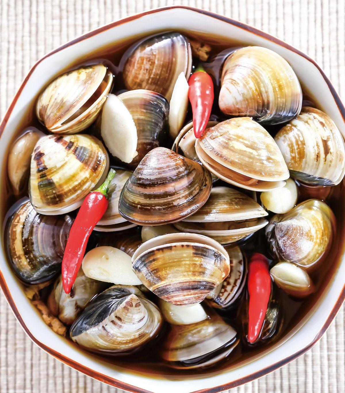 食譜:蒜味蛤蜊