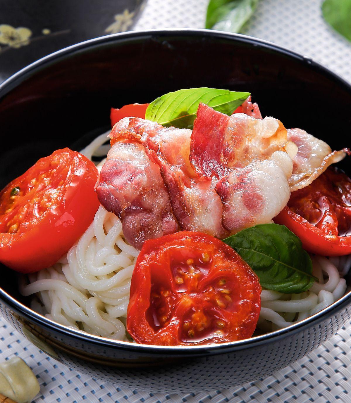 食譜:茄汁肉醬烏龍熱沾麵