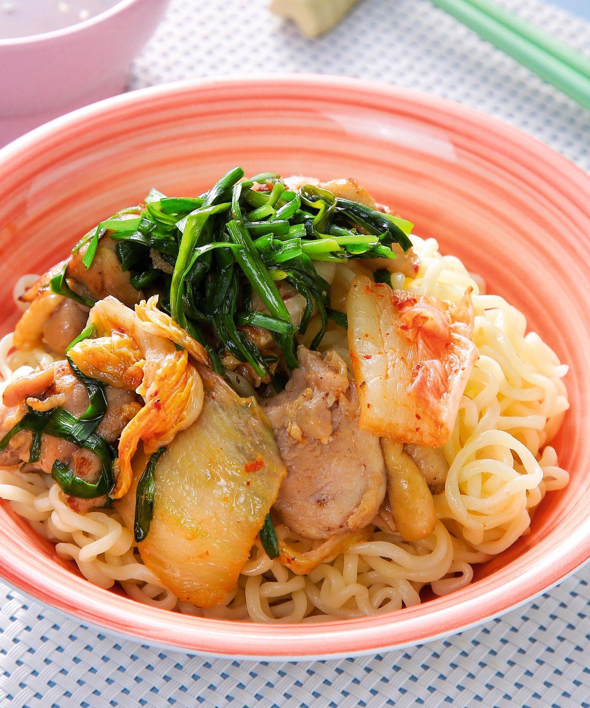 食譜:韓式拉麵熱沾麵