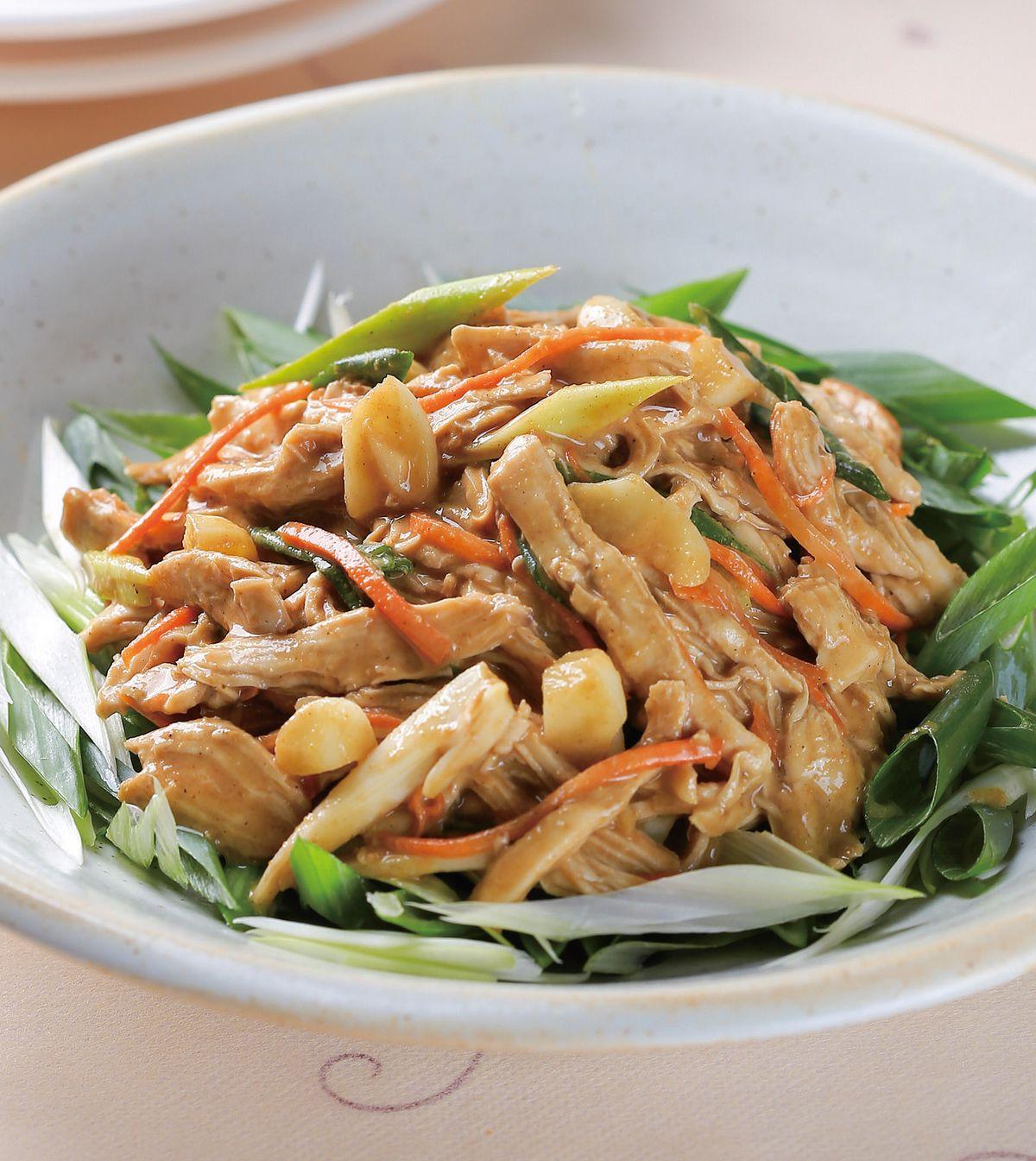 食譜:麻醬雞絲(1)