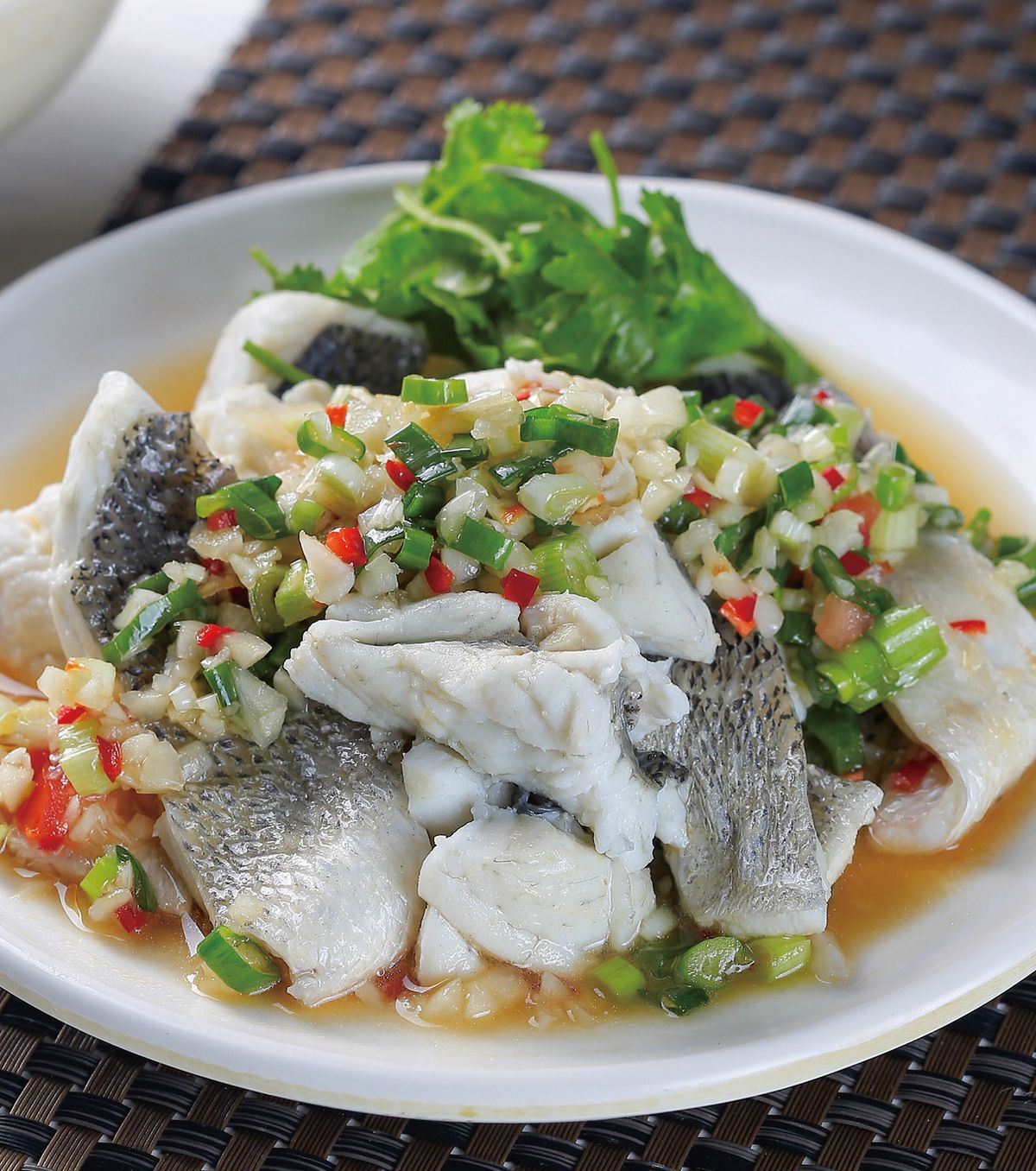 食譜:水煮鱸魚