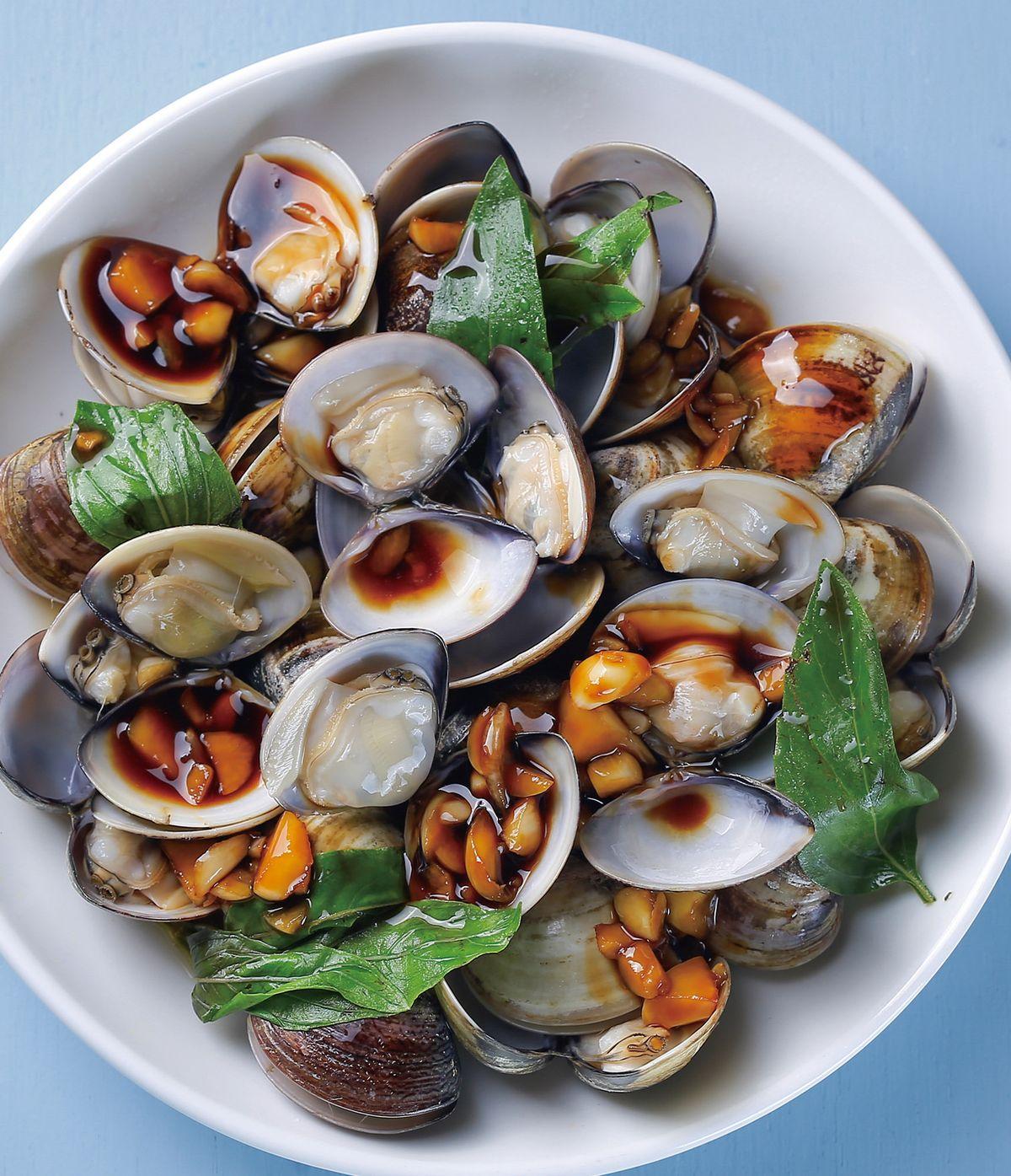 食譜:塔香蛤蜊(2)