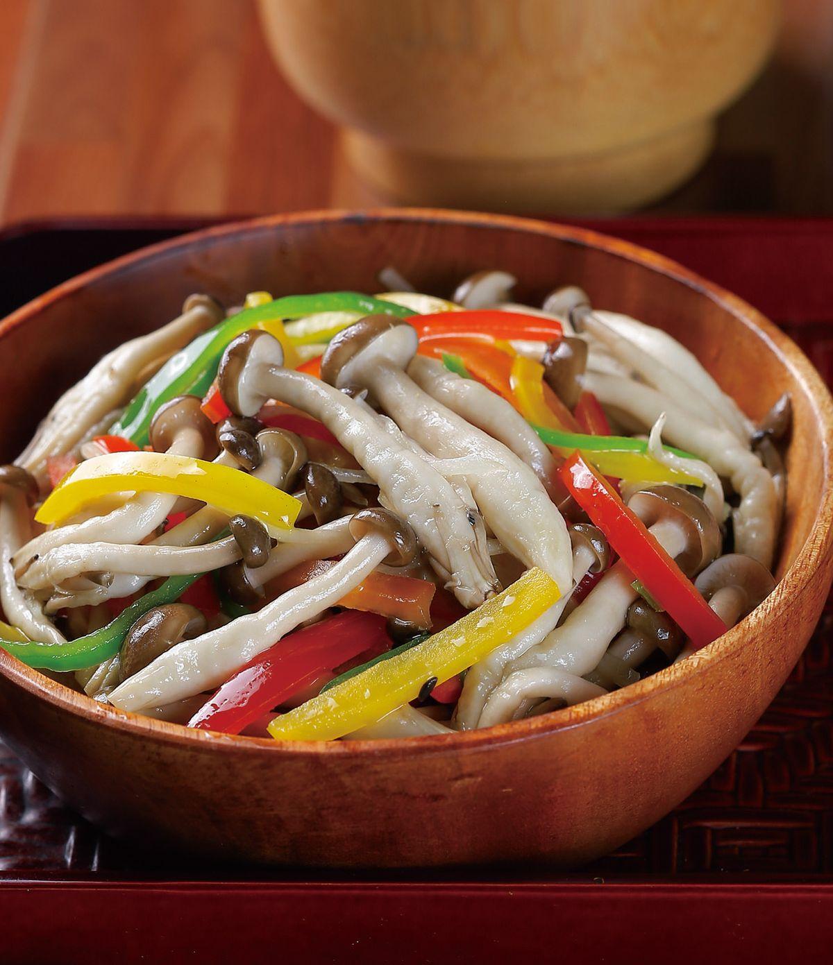食譜:養生彩椒鮮菇