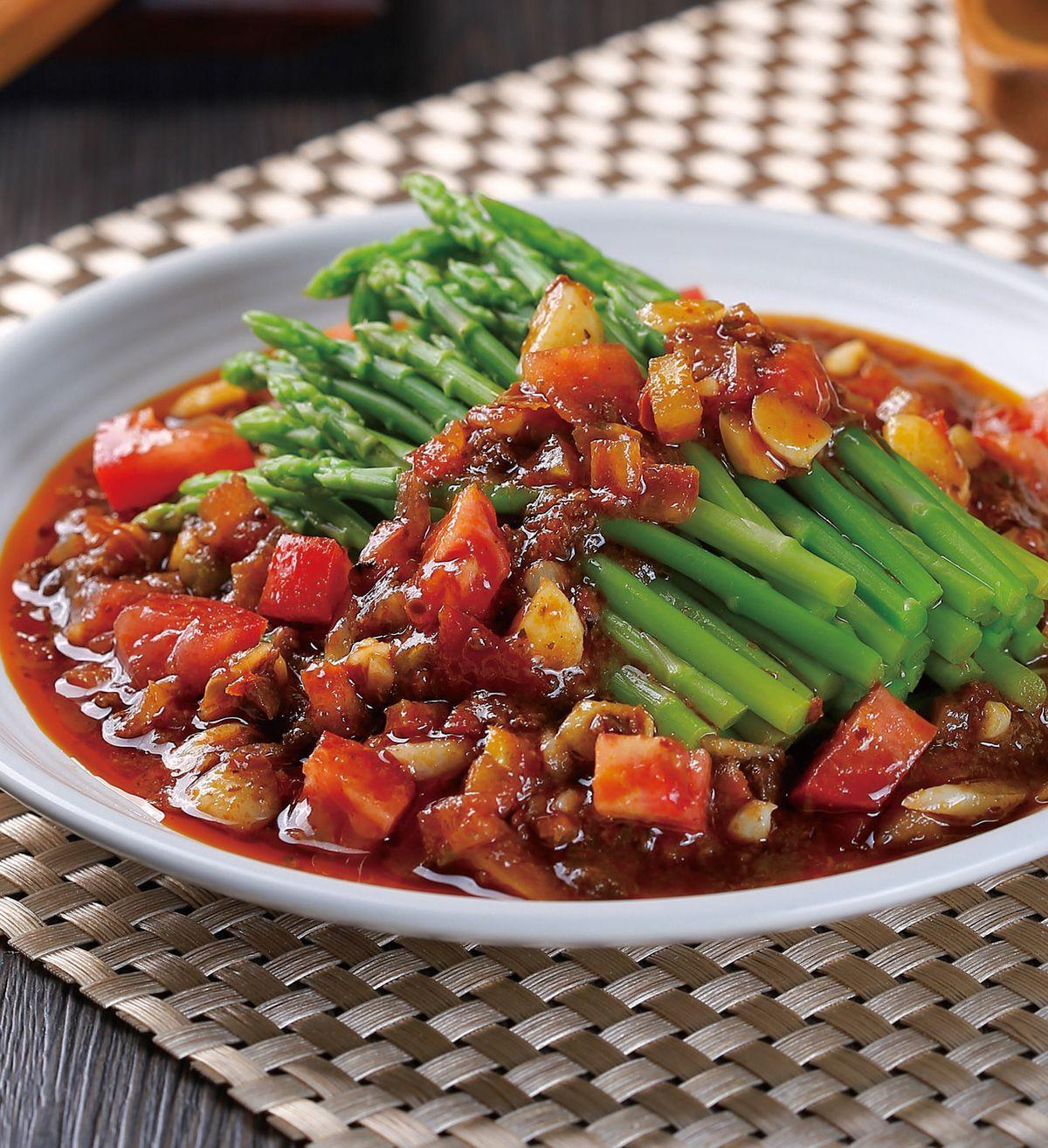 食譜:泰式番茄蘆筍