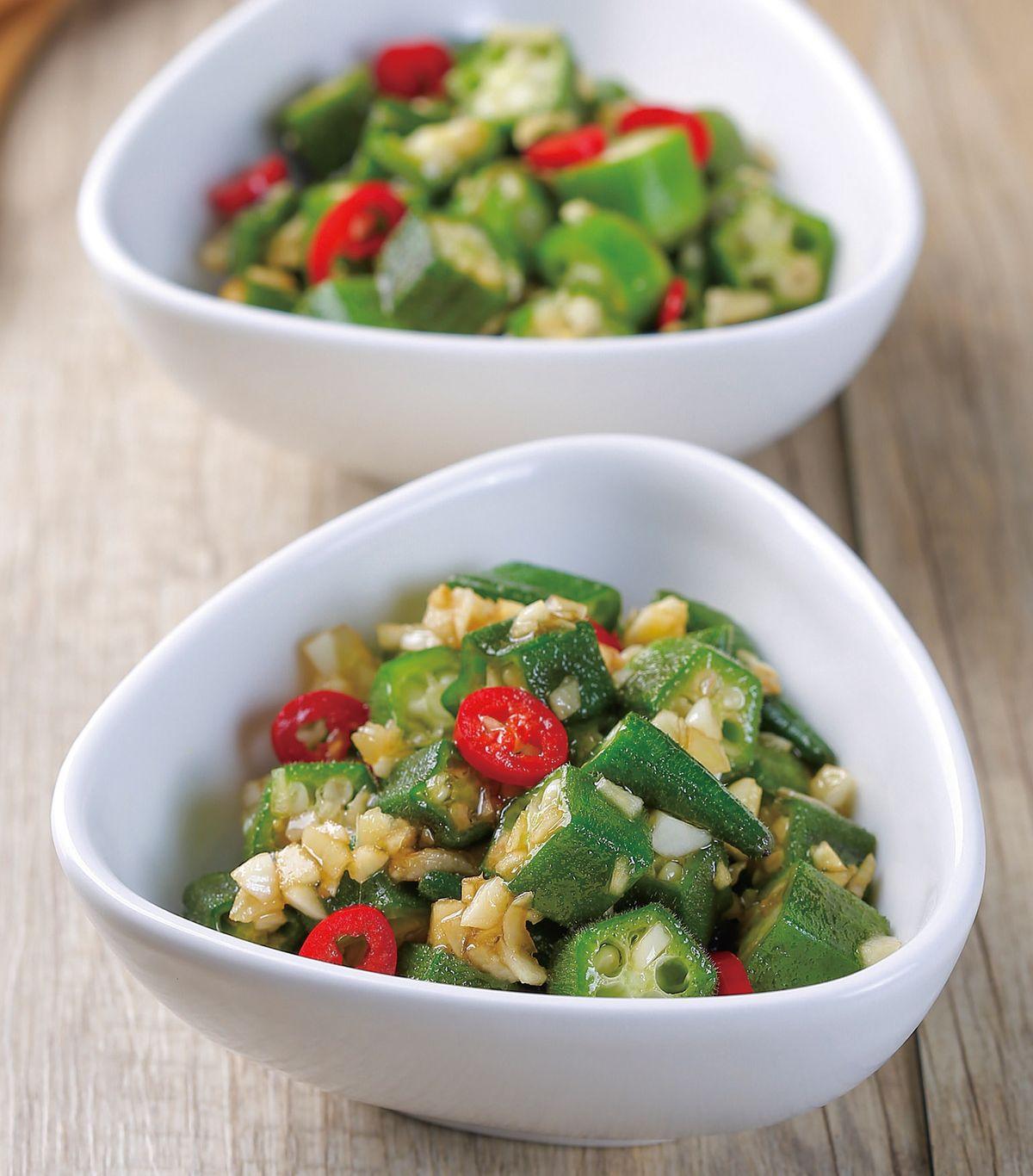 食譜:蒜汁秋葵