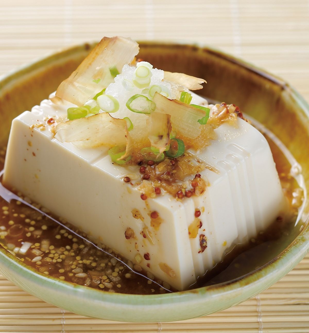 食譜:和風涼拌豆腐