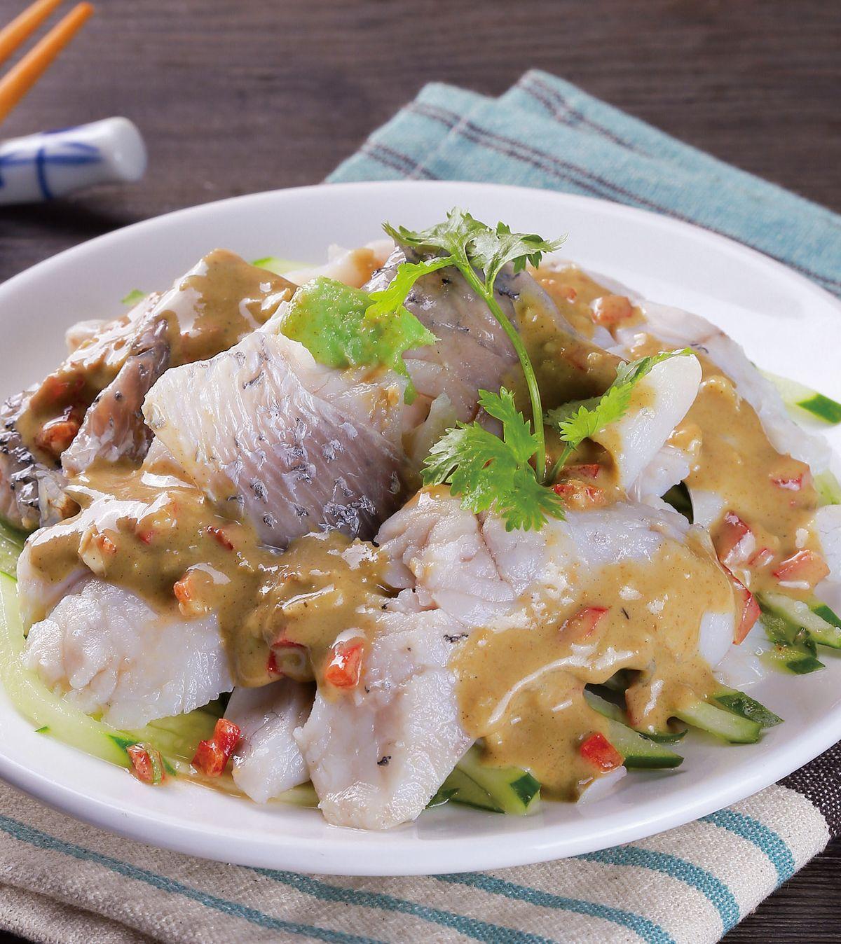 食譜:麻醬魚片