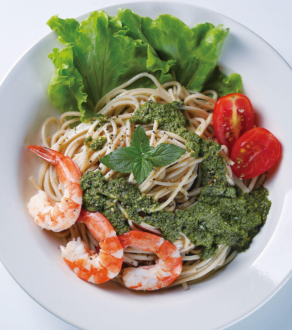 食譜:青醬蕎麥麵