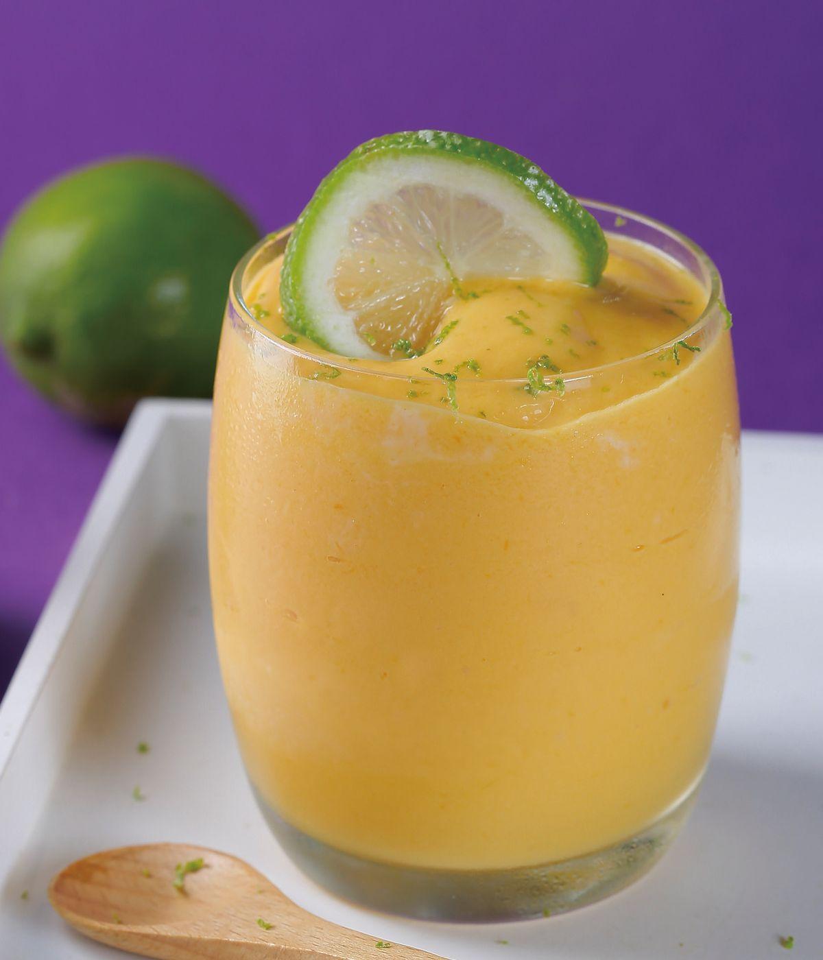 食譜:芒果優格雪酪