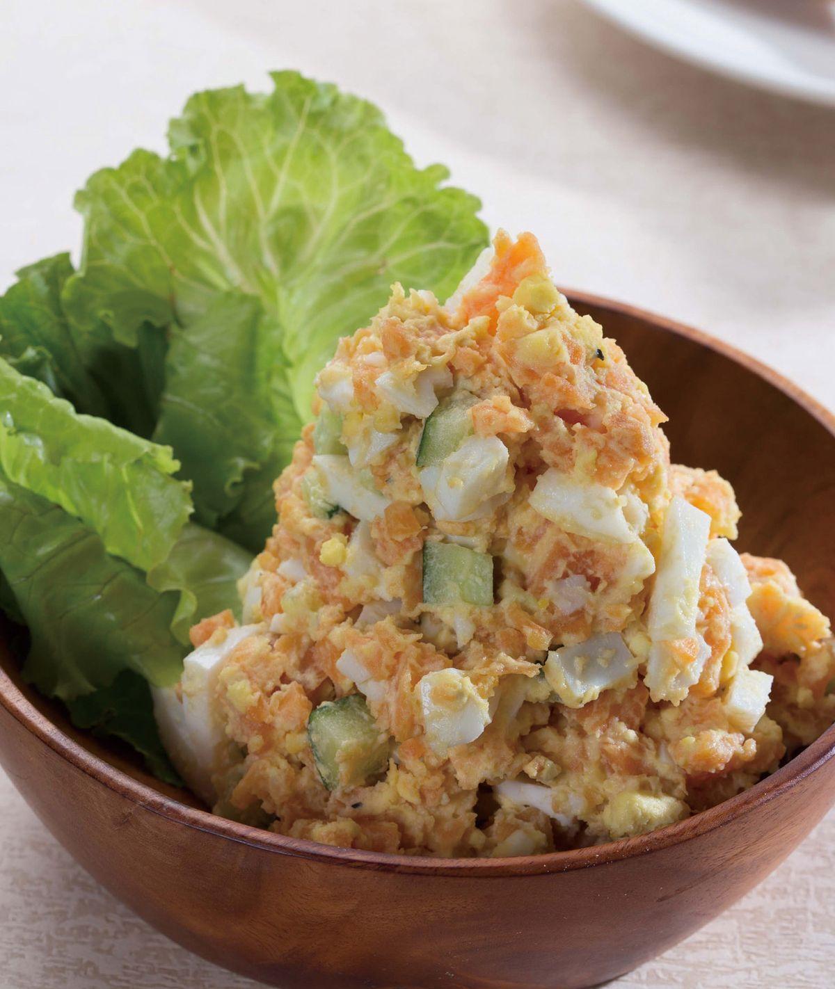 食譜:地瓜水煮蛋沙拉
