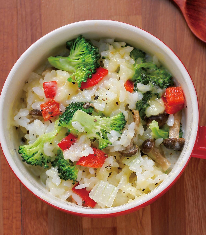 食譜:野菇奶油燉飯