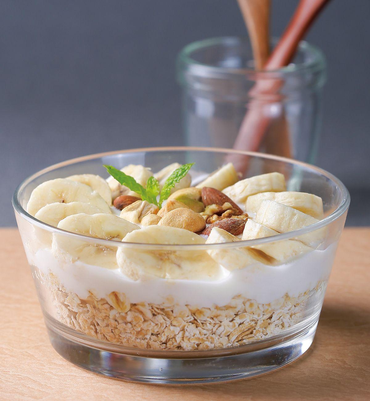 食譜:優格香蕉燕麥