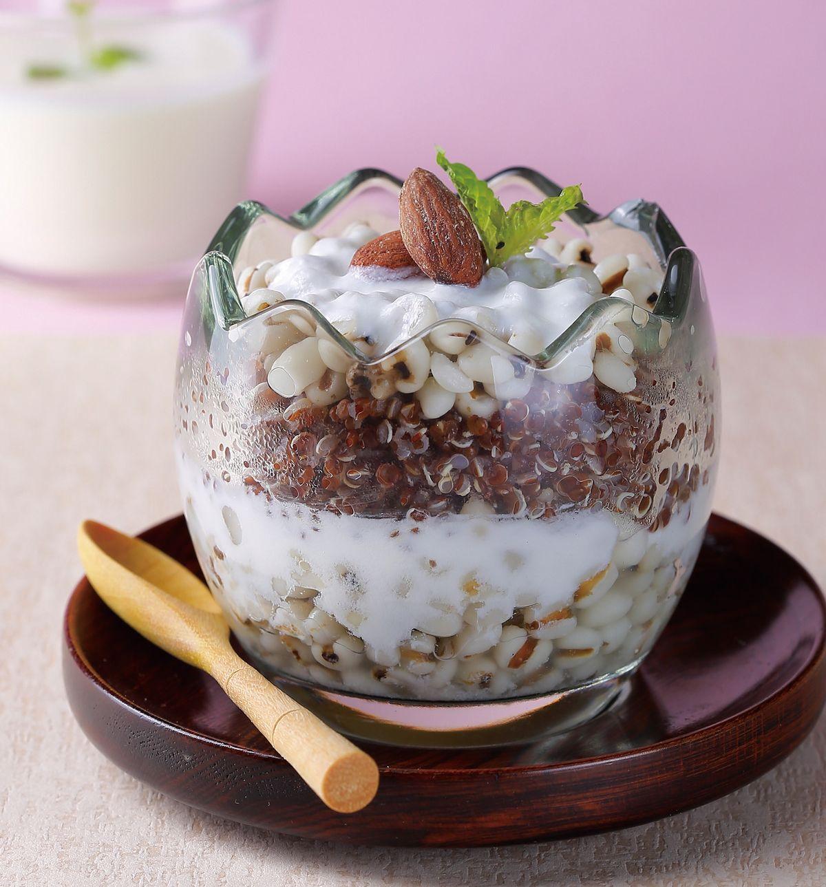 食譜:優格薏仁藜麥