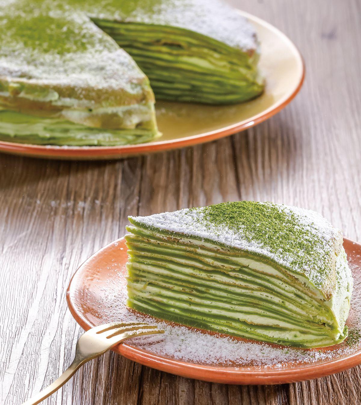 食譜:抹茶千層蛋糕