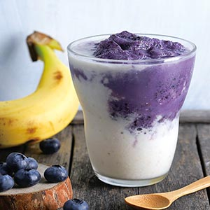 藍莓香蕉果昔