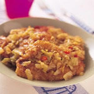 炸排骨燜鹹菜