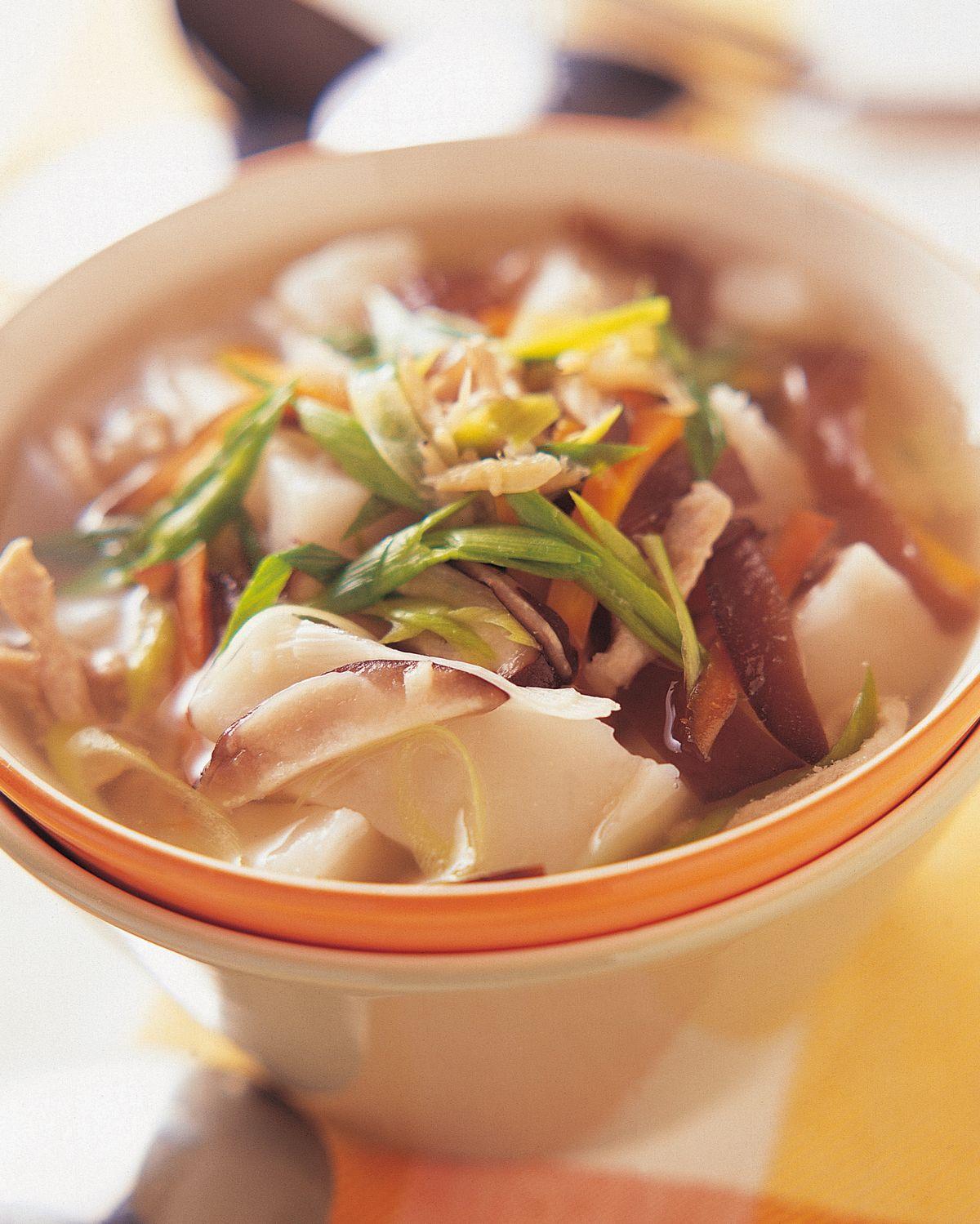 食譜:蘿蔔糕湯