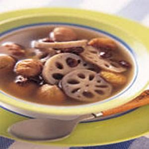 栗子蓮藕湯