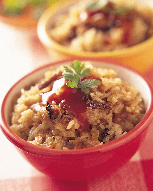 食譜:油飯(3)