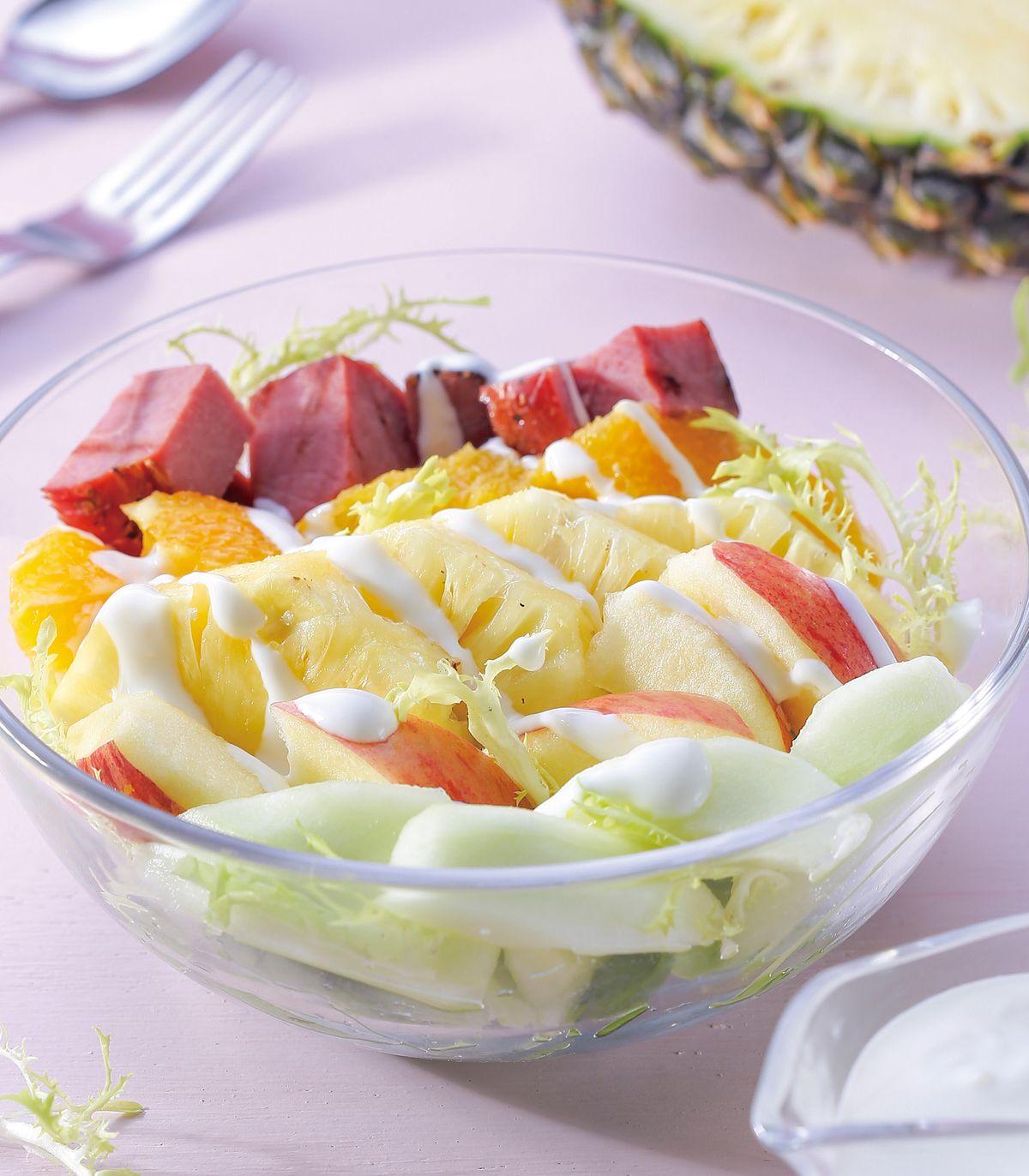 食譜:水果百匯沙拉