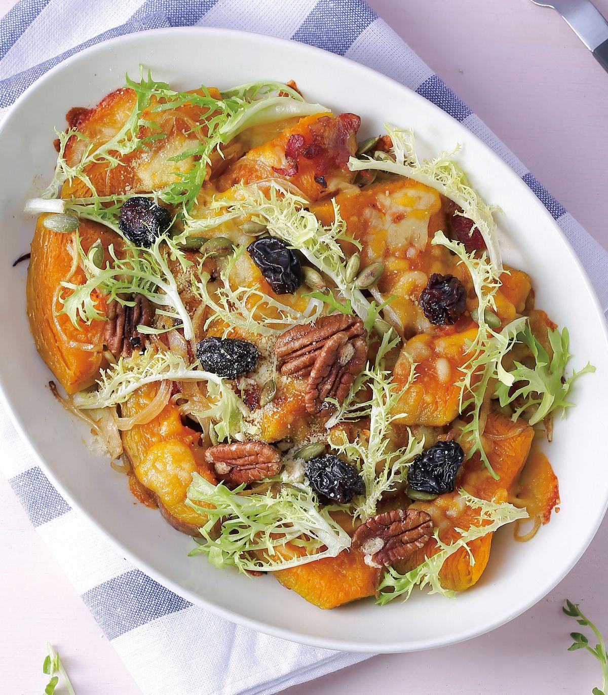 食譜:焗烤南瓜沙拉