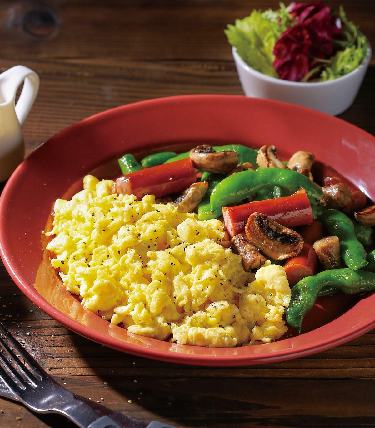 食譜:美式起司炒蛋