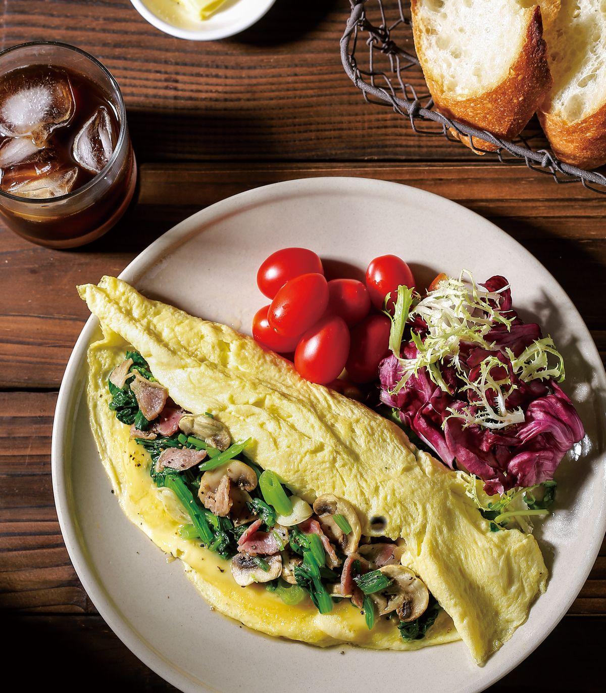 食譜:鮮蔬歐姆蛋卷