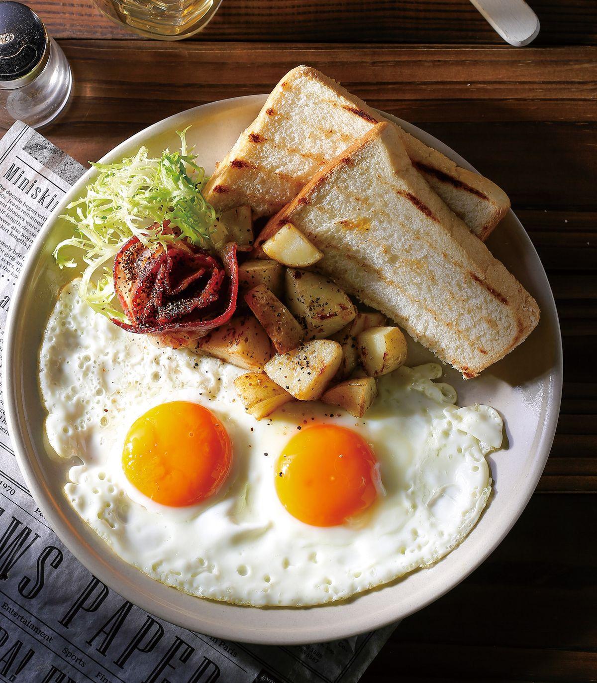 食譜:元氣太陽蛋
