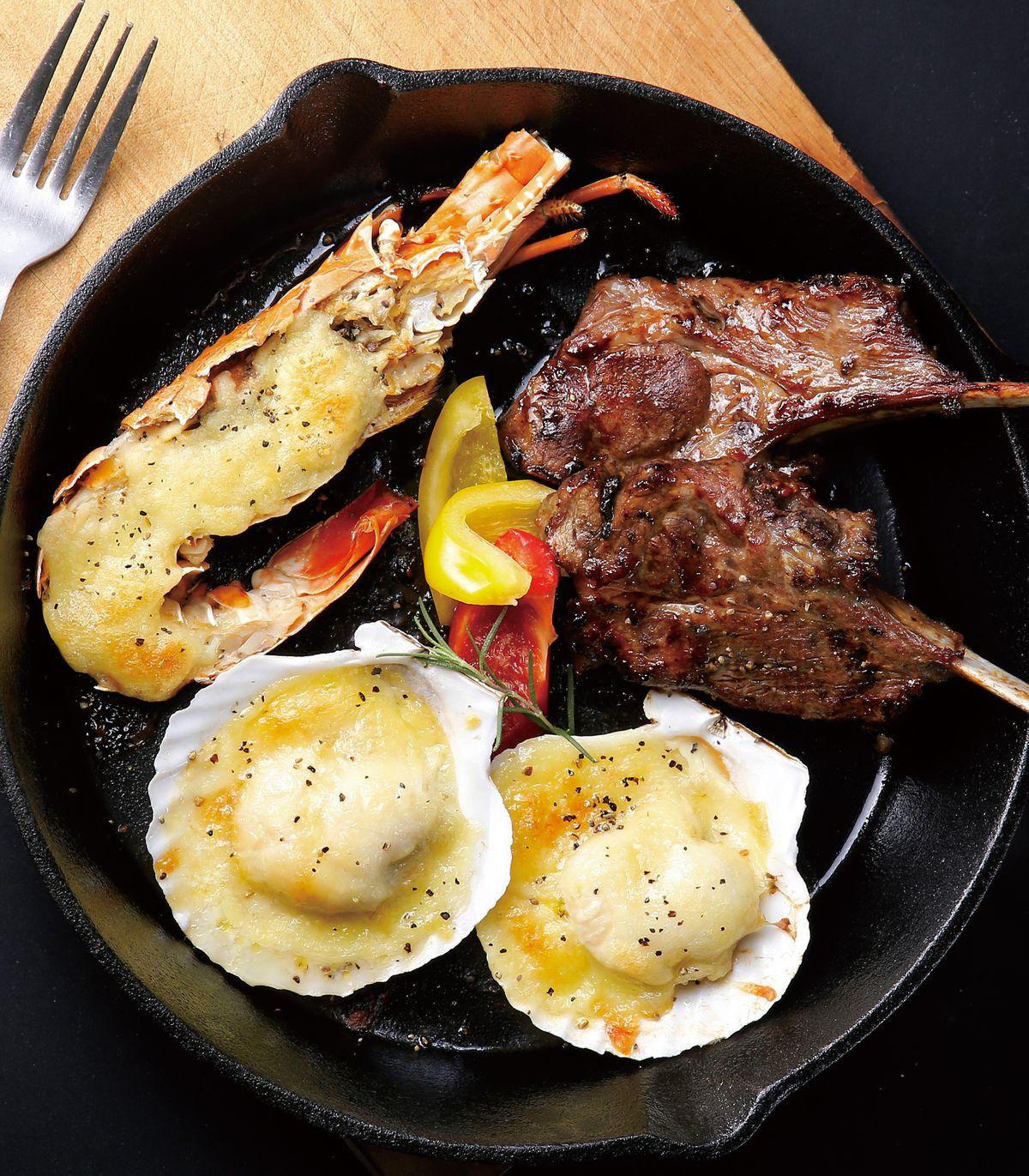 食譜:焗烤海陸鍋