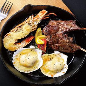 焗烤海陸鍋