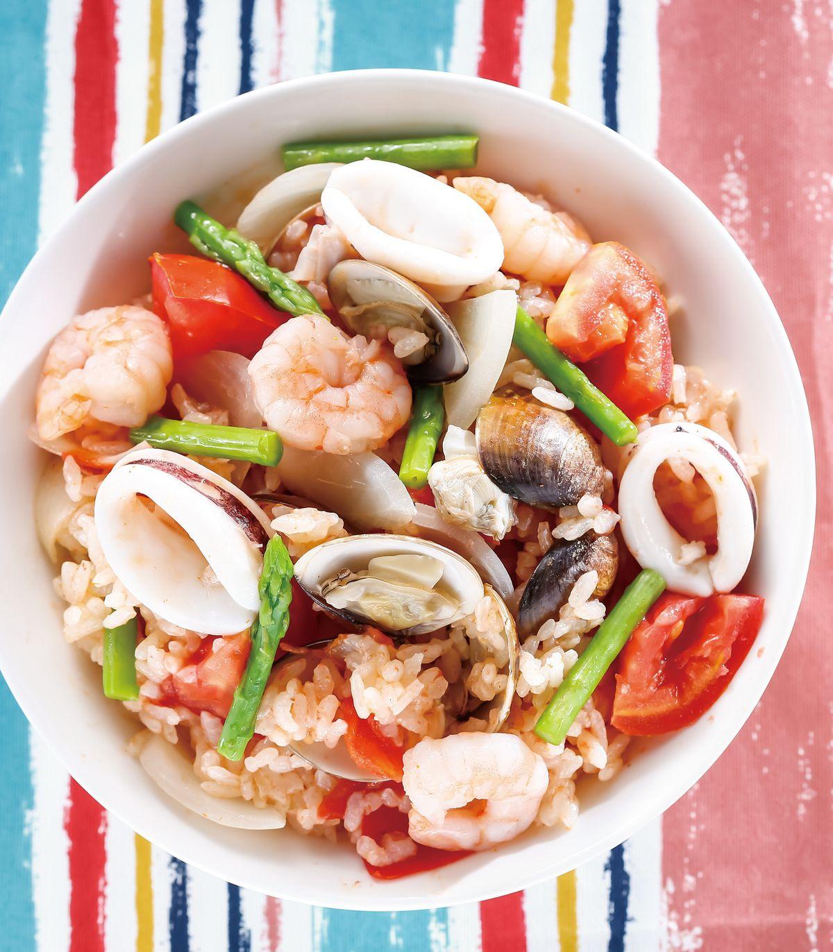 食譜:番茄海鮮炊飯