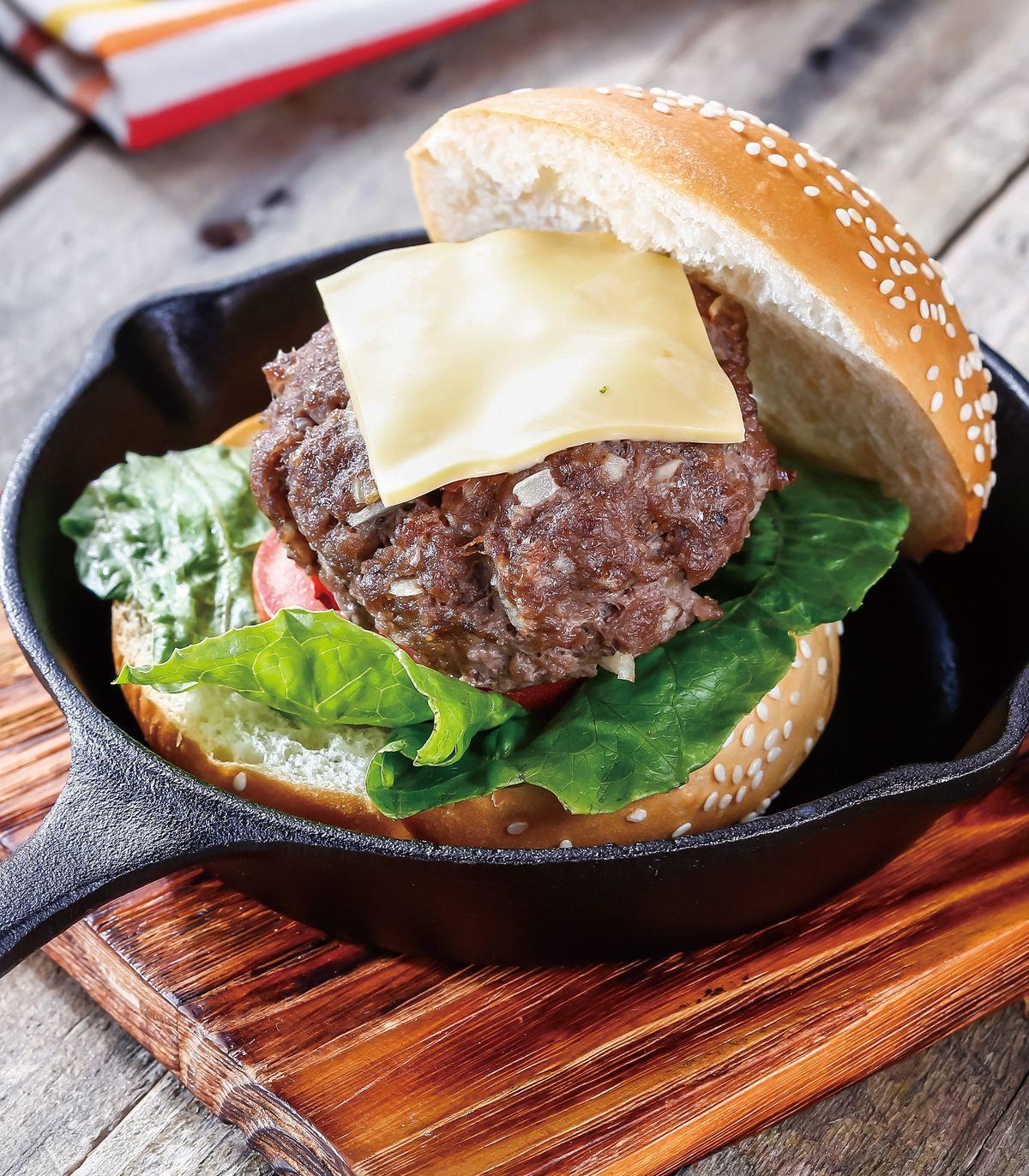 食譜:香烤漢堡排