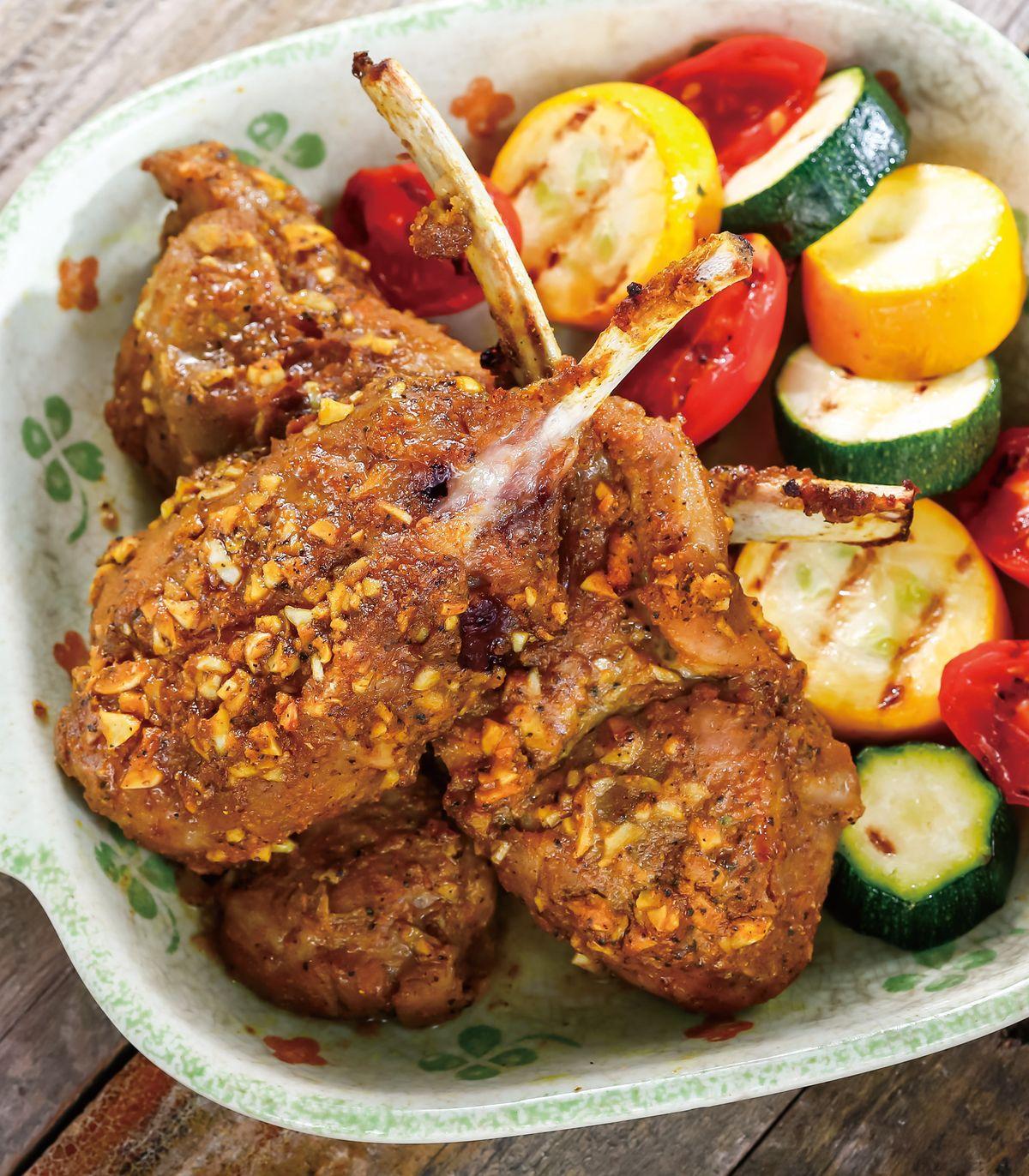 食譜:咖哩烤羊排(2)