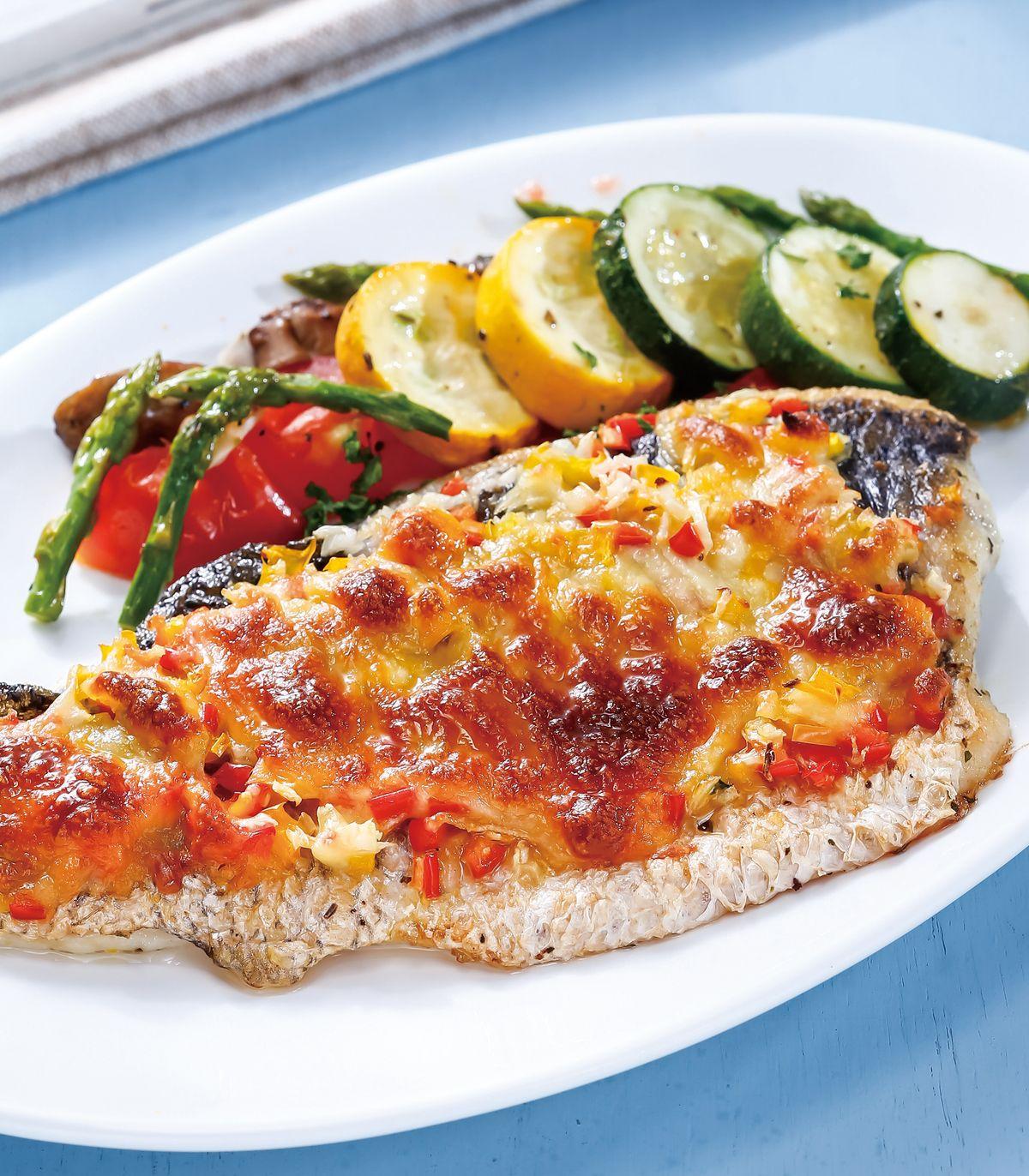 食譜:起司焗烤魚排