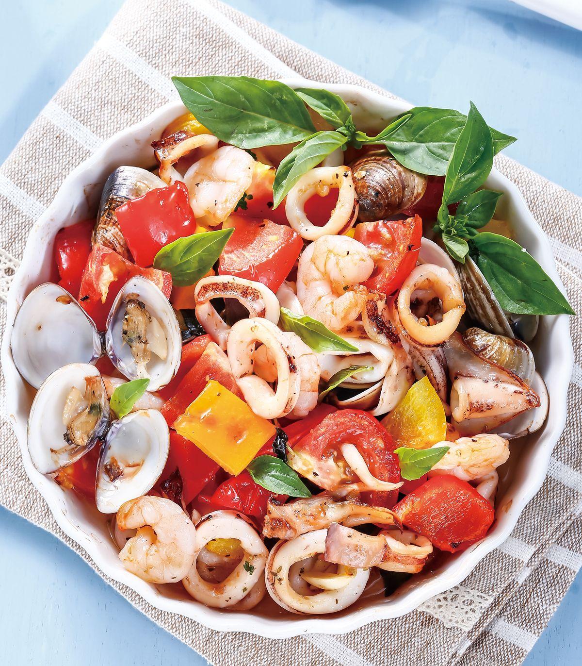 食譜:地中海烤海鮮