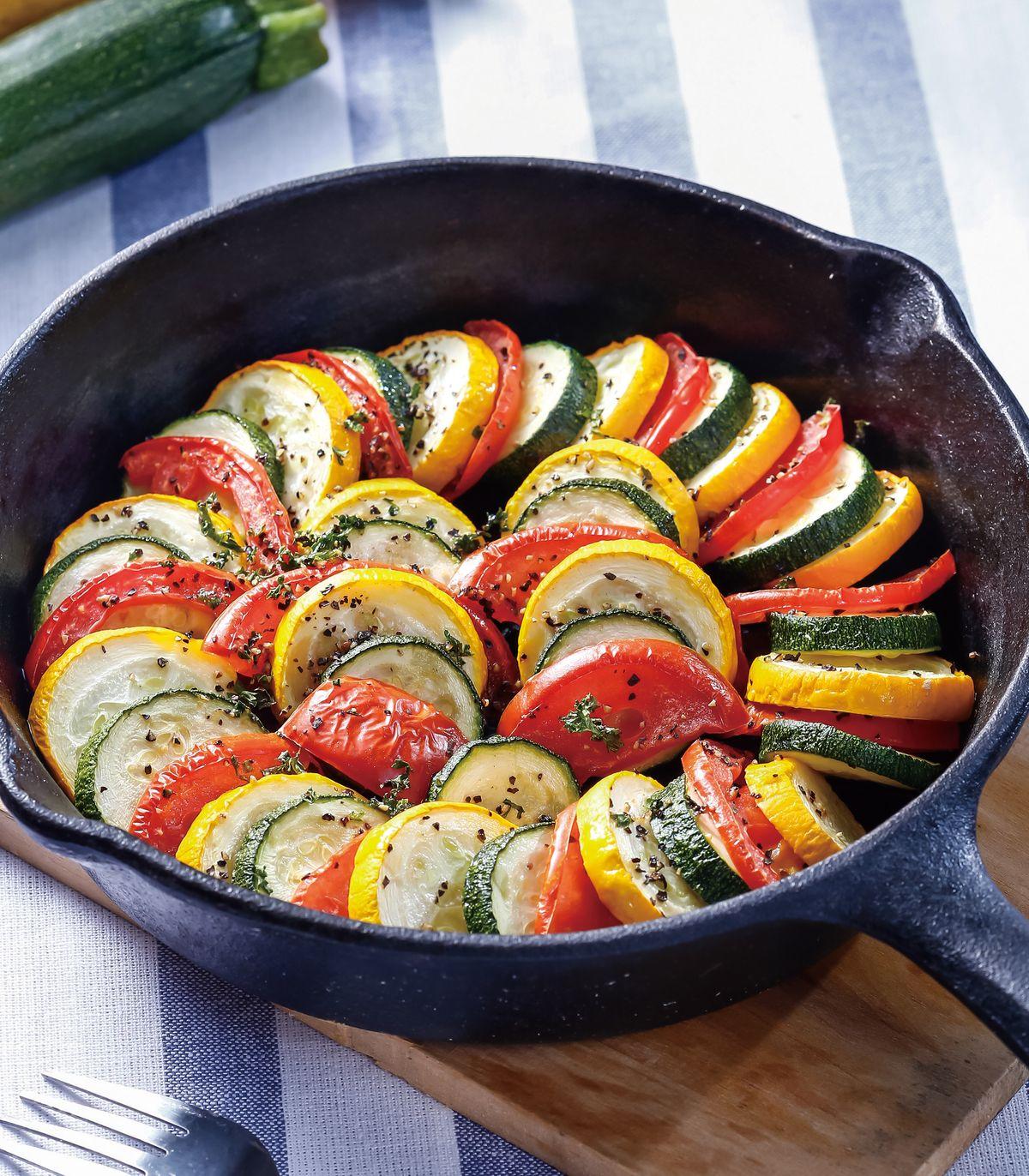 食譜:義式烤櫛瓜