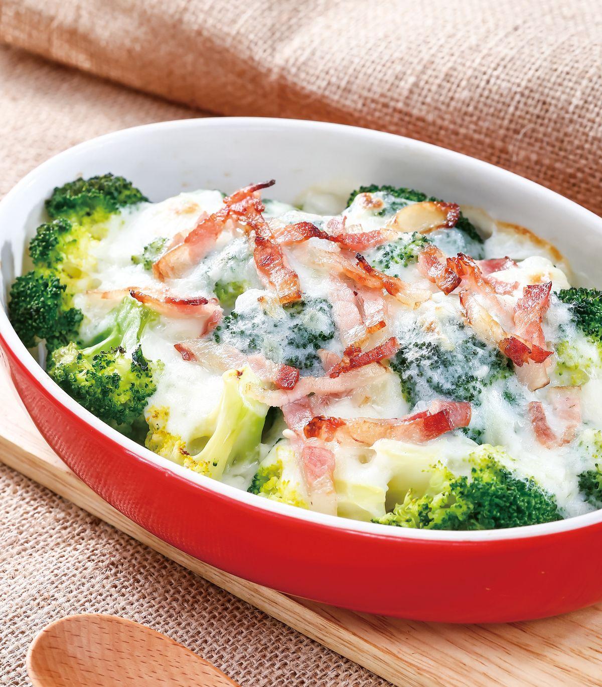 食譜:奶油焗花椰菜