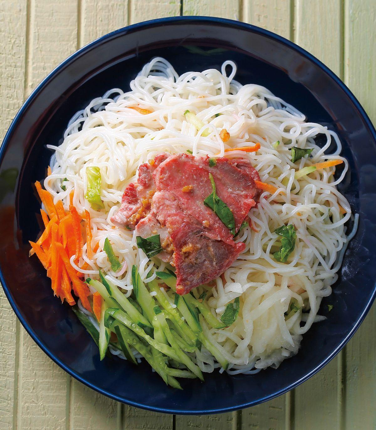 食譜:越南涼拌米線
