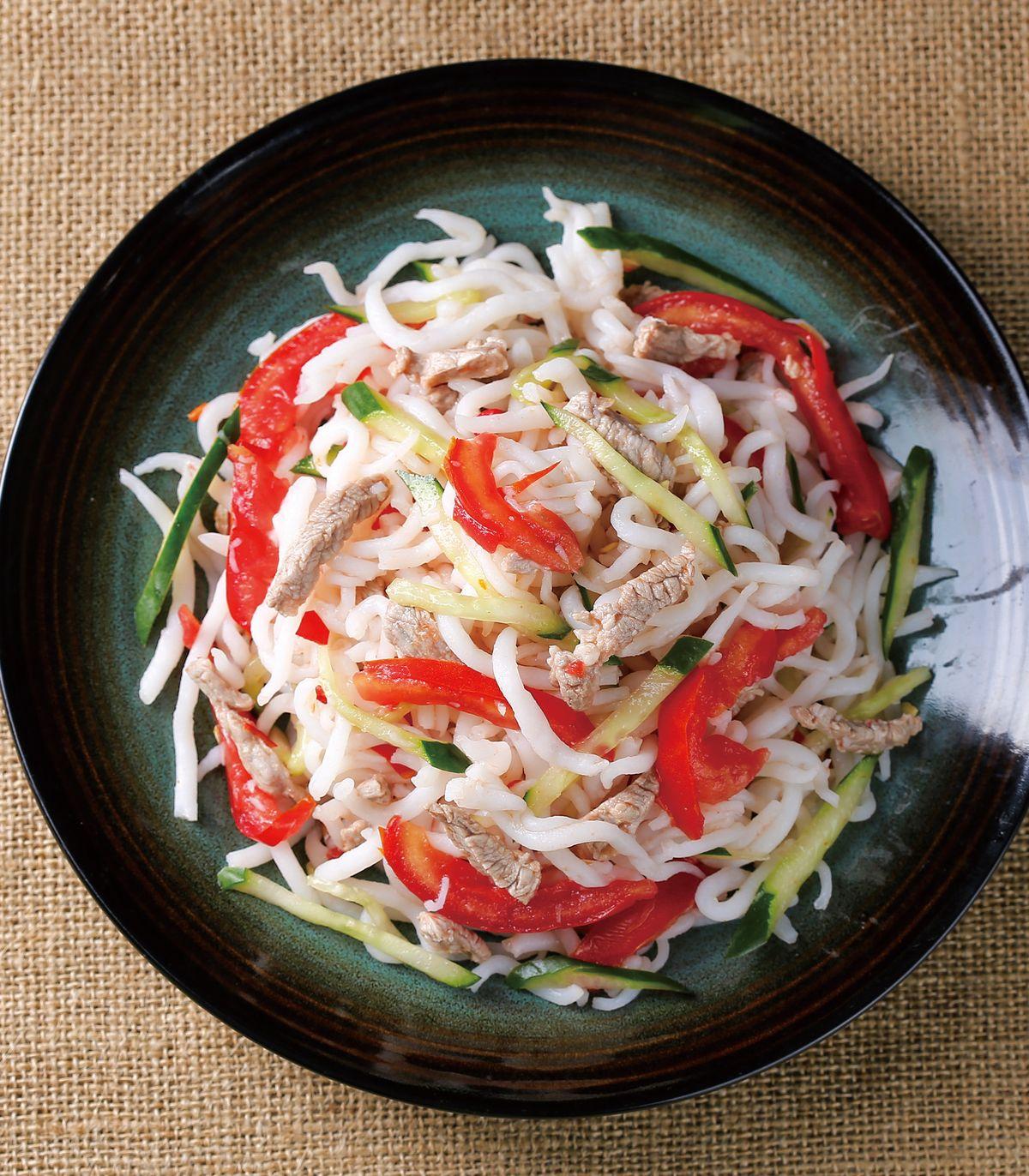 食譜:什錦乾拌米苔目